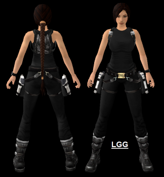Tomb Raider Movie Black3 Outfit