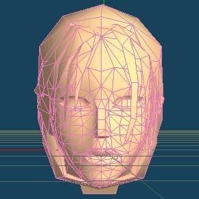 New High-Polygon Headmesh
