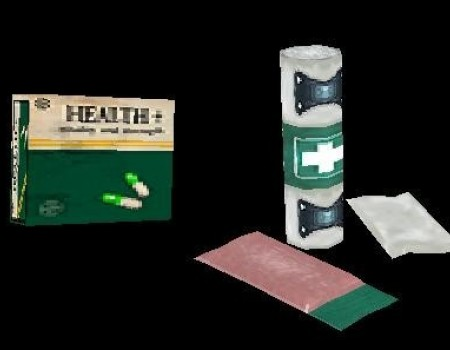 AOD Pills and Bandages