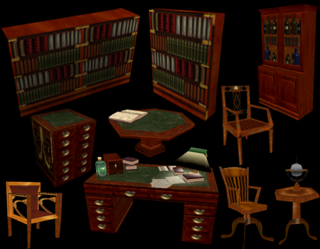 TR4 Alexandria Furniture Set