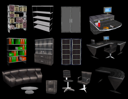 TRC Office Furniture Set