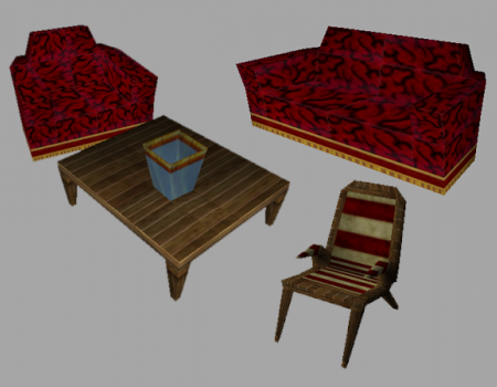 TRC Rome Furniture Set