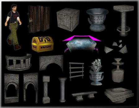"Objects from ""Pegasus Fairytale"""