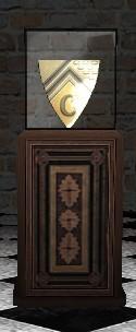 Pedestal + Glass case