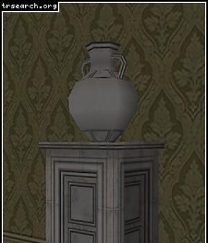 Pedestal + Vase