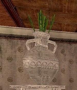 Vase on a pedestal