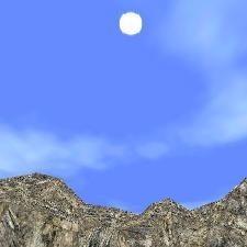 3D Mountain Horizon
