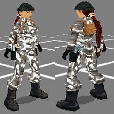 Tomb Raider Chronicles - Camouflage Wintersuit Remake