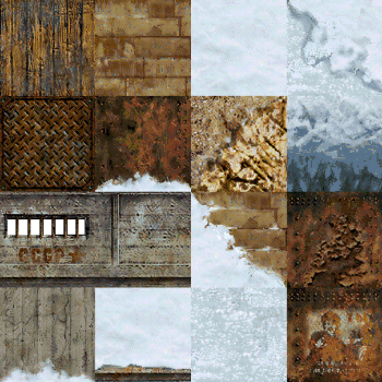 FOOL'S GOLD Textures 2x AI Upscaled