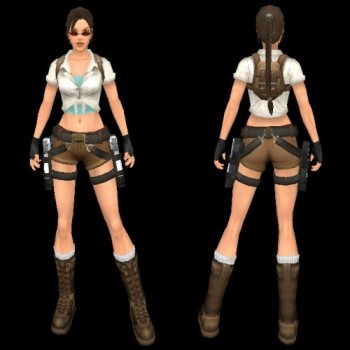 Archaeologist Short Outfit Pack