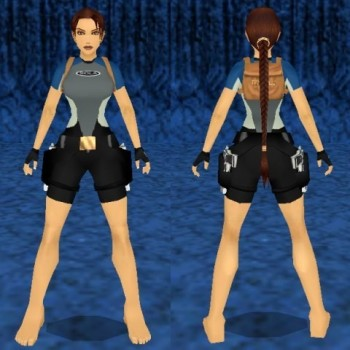 Tomb Raider II Diver Outfit Remake