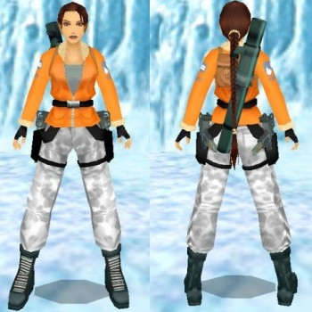 Tomb Raider III Antartica Outfit Remake