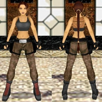 Tomb Raider III House Outfit Remake