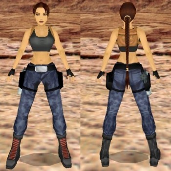 Tomb Raider III Nevada Outfit Remake
