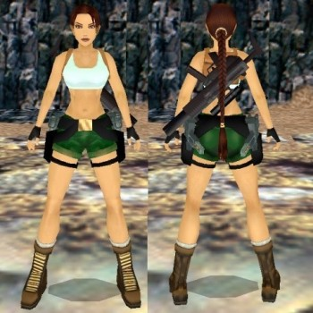 Tomb Raider III Pacific Outfit Remake