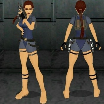 Tomb Raider VI Wetsuit Outfit Remake