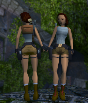TR1 Classic Outfit (With Joints)