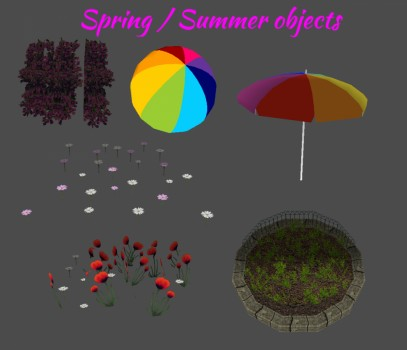 Spring / Summer objects