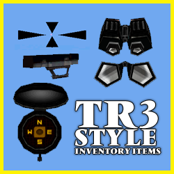 TR3 Style Inventory Items and target sprite