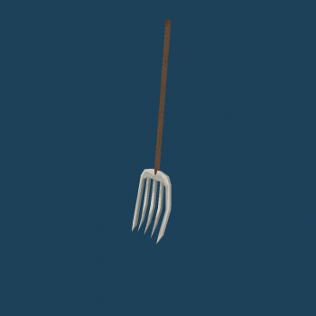 Pitchfork object remake