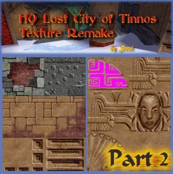 HQ 128px Lost City of Tinnos Texture Remake #2