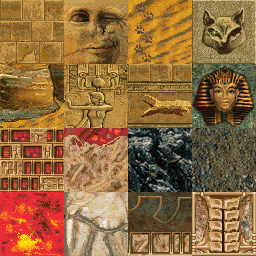 Tomb Raider 1 Gold Textures