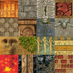 Tomb Raider 1 Textures