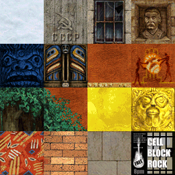 Tomb Raider 2 Gold Textures