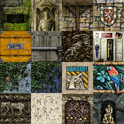 Tomb Raider 3 Gold Textures