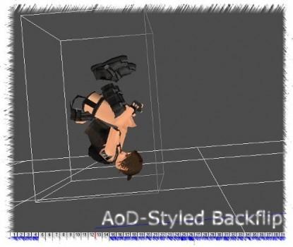 AoD Styled Backflip