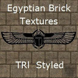 Egyptian Brick Texture TR1 Styled
