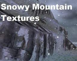 Snowy Mountain Textures