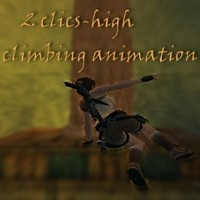 2 clics-high climing animation