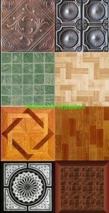 New Ceiling And Floor Textures