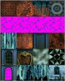 Tomb Rader 2 Textures- Living Quarters