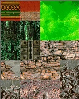 Tomb Raider 2 Textures- Floating Islands