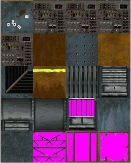 Tomb Raider 2 Textures- Offshore Rig