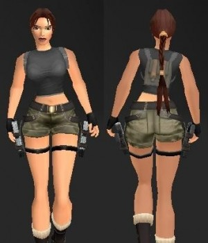 Angel of Darkness :Shorts outfit