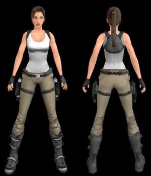 Lara croft: The Adventurer