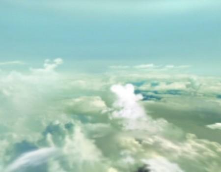 Airplane View Horizon