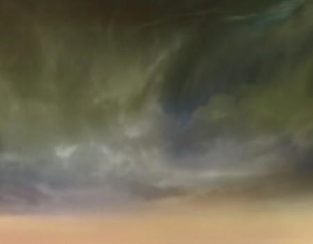 Cloudy Green Horizon