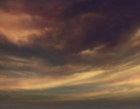 Majestic Purple Sunset