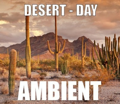 Ambient track - Desert : Day