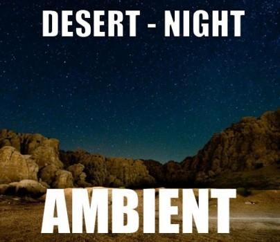 Ambient track - Desert : Night