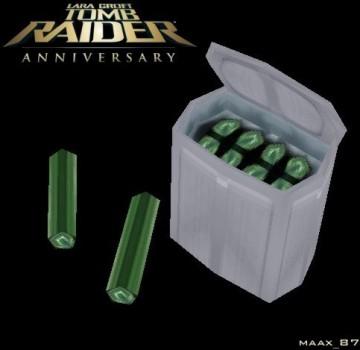 Tomb Raider Anniversary Flares