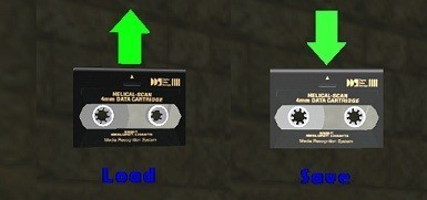 DDS tapes (Load & Save items)