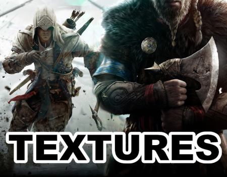 Assassin's Creed 3 Remaster and Valhalla Textures