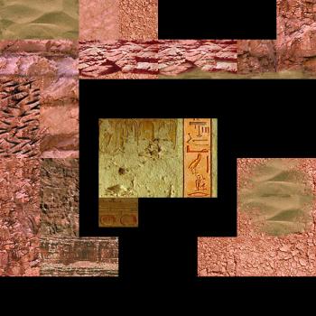 Reorganized Textures VII - TR4 Title, Angkor, Valley, Karnak