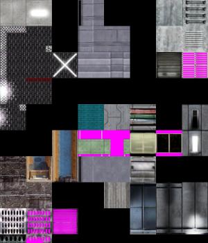 Reorganized Textures VIII - TR4 Giza, TR5 All