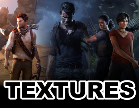 Uncharted 3, 4, Lost Legacy Textures, Part 3